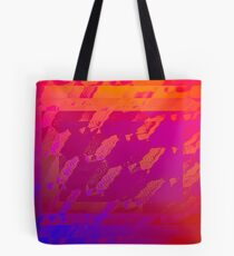 Fuchsia Abstract Tote Bag