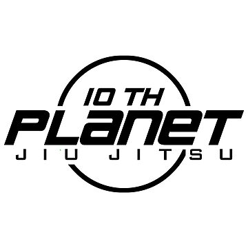 10th Planet Jiu-Jitsu Logo Black by MillSociety