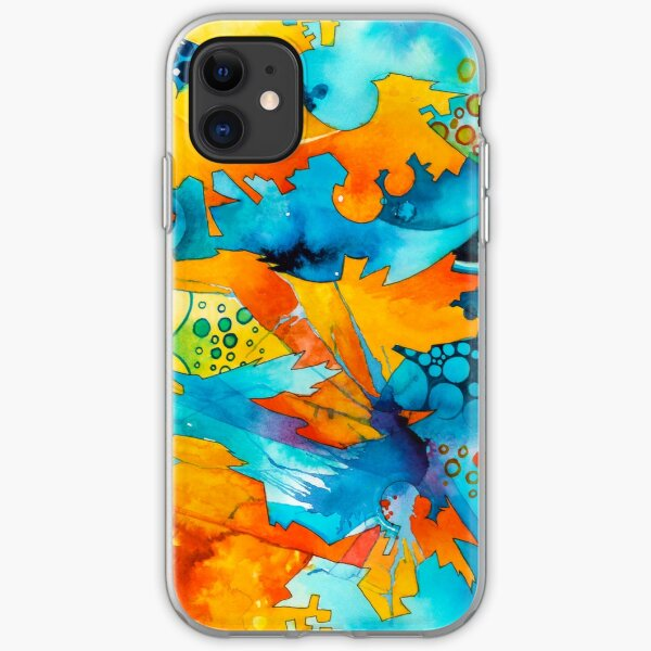 Are They Unicorns or Horniecornies? - Watercolor Painting iPhone Soft Case