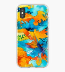 Are They Unicorns or Horniecornies? - Watercolor Painting iPhone Case