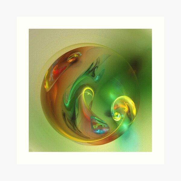 Nativity - an abstract image Art Print