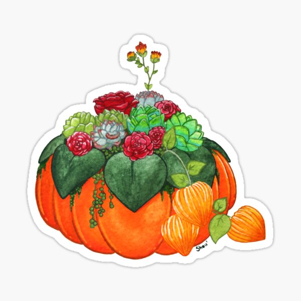 Autumn Bouquet Sticker