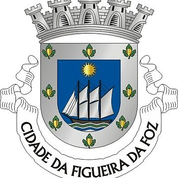 Figueira da Foz coat of arms, Portugal by PZAndrews