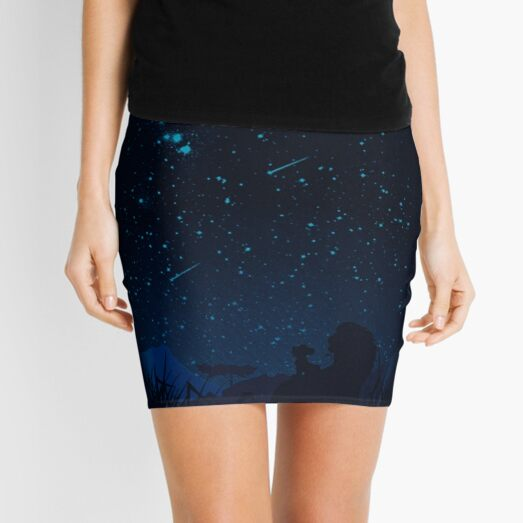 Looking at the stars Mini Skirt