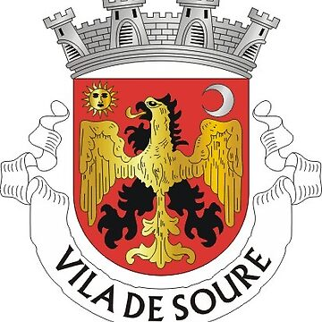 Coat of Arms of Soure, Portugal by PZAndrews