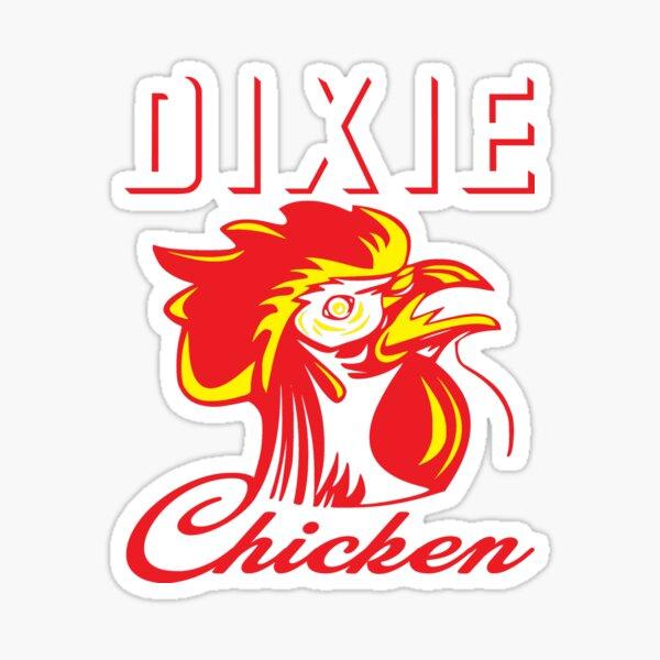 Dixie Chicken  Sticker