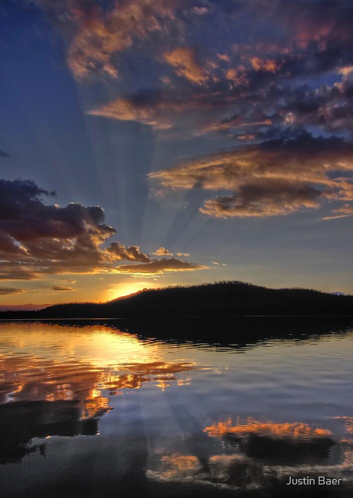 Magical Morning Fallen Leaf Lake by Justin Baer