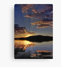 Magical Morning Fallen Leaf Lake Canvas Print