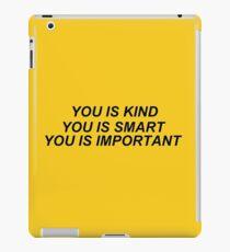 Vinilo o funda para iPad Usted es amable
