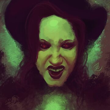 Wicked Witch by z0mbieparade