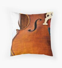 Cello Throw Pillow
