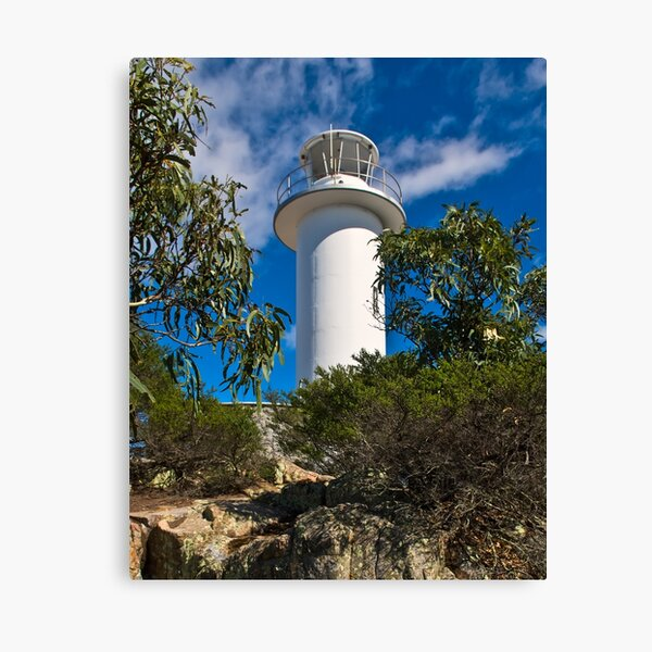 Cape Tourville Lighthouse at Freycinet Canvas Print