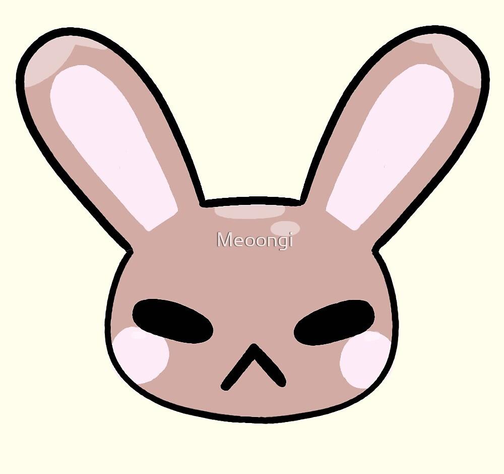 Chubby Bunny by Meoongi