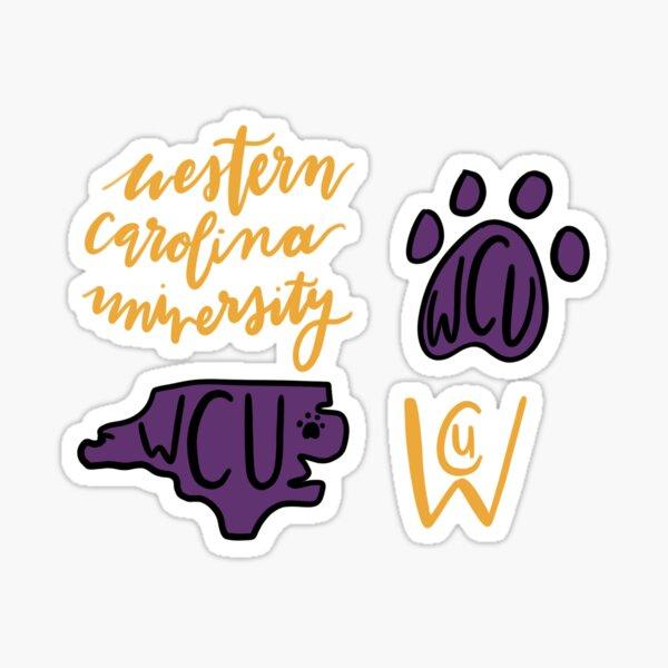 Western Carolina Sticker Pack  Sticker