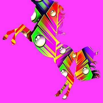 Rainbow rainforest unicorns by KaylinArt