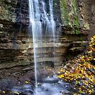 Hidden Falls In The Fall 2 by Gypsykiss