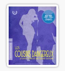 """""""Les Cousins Dangereux"""" The Crapterion Collection Sticker"""