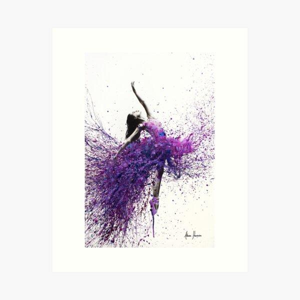 Wine Dance Art Print