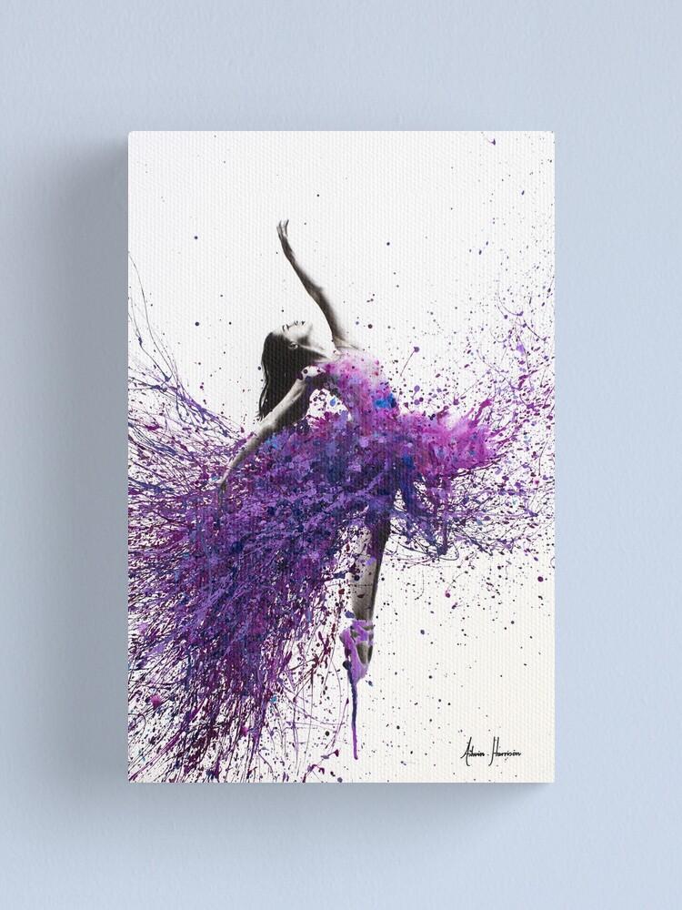 Alternate view of Wine Dance Canvas Print