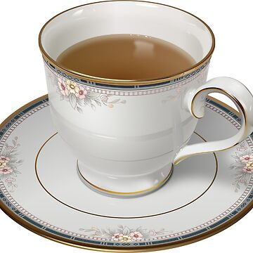 Tea Cup with Saucer by befehr