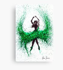 Green Dance Canvas Print