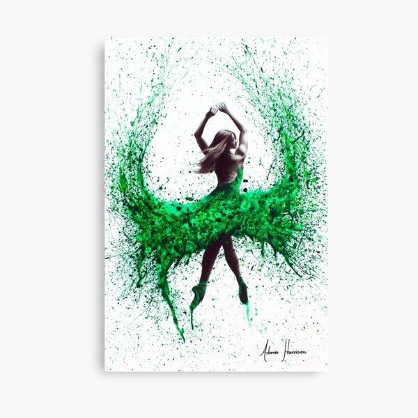 Green Dance Canvas Print