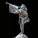 1929 Cadillac Hood Ornament by dlhedberg