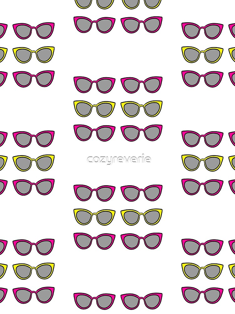 Pink and Yellow Sunnies by cozyreverie