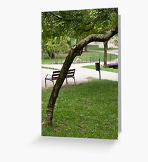In The Park take 2 Greeting Card