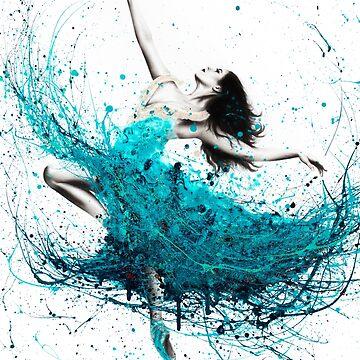 Ballerina Waves by AshvinHarrison