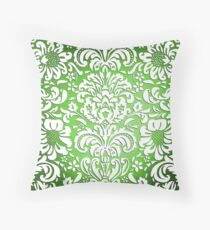Floral Elegance - Colour Fade Pattern 3 Throw Pillow