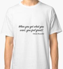 ffee45b8 Belinda Blumenthal's Life Advice (My Dad Wrote a Porno) Classic T-Shirt