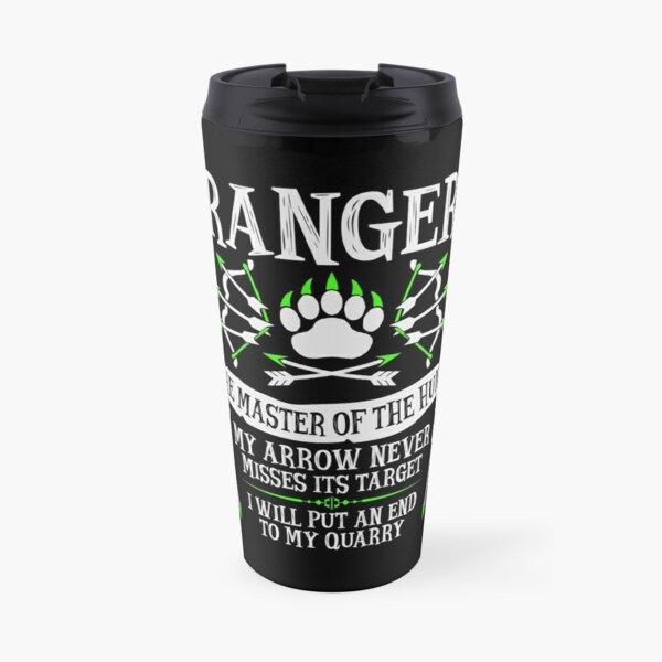 RANGER, The Master of the Hunt - Dungeons & Dragons (White Text) Travel Mug