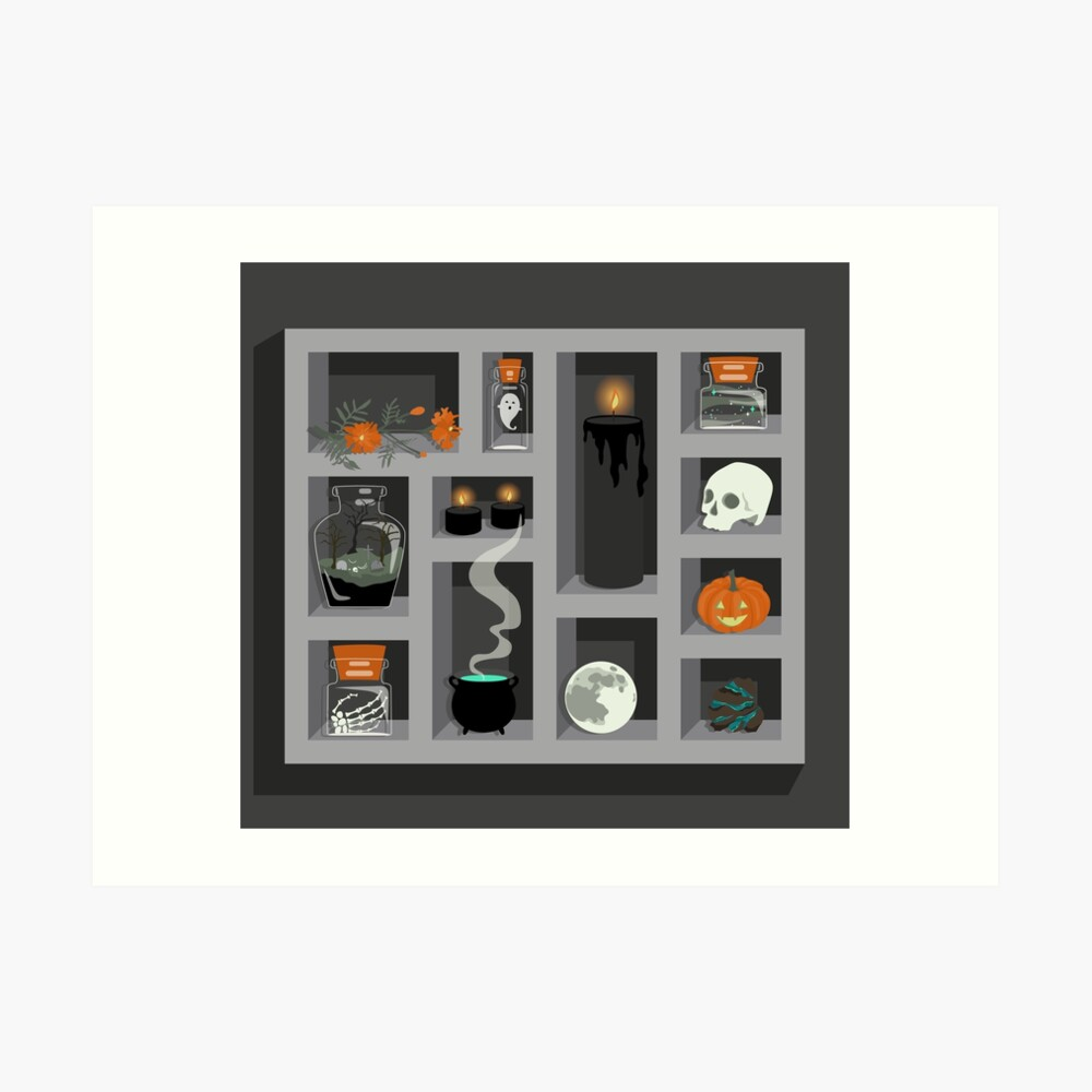 October Collection Art Print