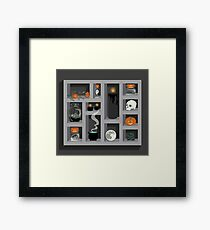 October Collection Framed Print