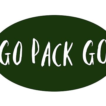 Go Pack Go! by nyah14