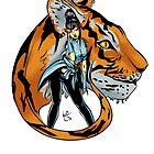 Tekken 7 - Kazumi Mishima & Tiger by LosGee