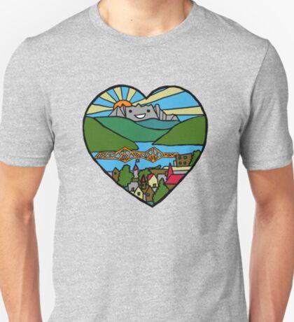 Happy Little Mountain Town T-Shirt