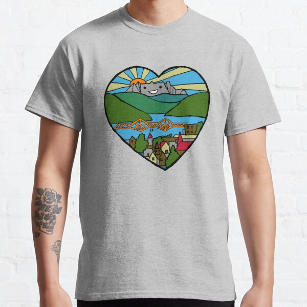 Happy Little Mountain Town Classic T-Shirt