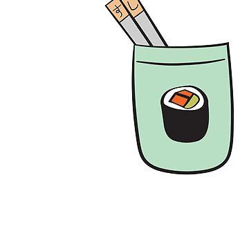 Chopsticks Pocket by ysruss