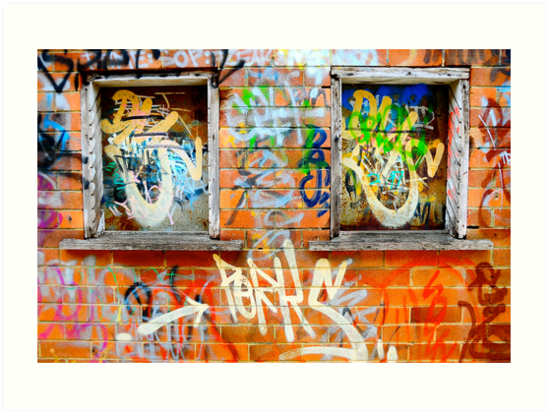 Wooden Windows by Julian Fulton-Boote