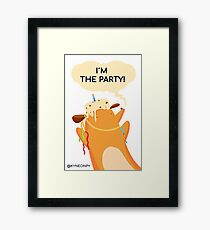 I´m the PARTY Framed Print