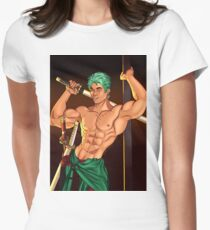 Roranoa Zoro Women's Fitted T-Shirt