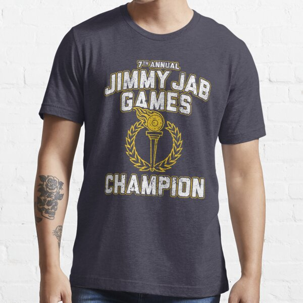 Jimmy Jab Games Champion Camiseta esencial