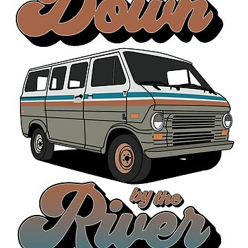 Down By The River - T-Shirt by GHDesigns