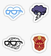 Mini Sanders Sides logo stickers Sticker