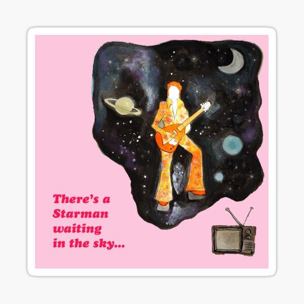 David Bowie Starman / Ziggy Stardust Sticker