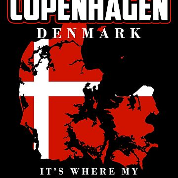 Copenhagen Denmark by GeschenkIdee
