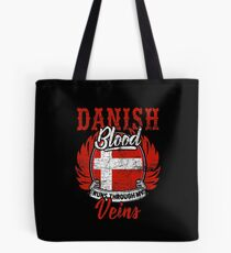 Denmark nationality Tote Bag