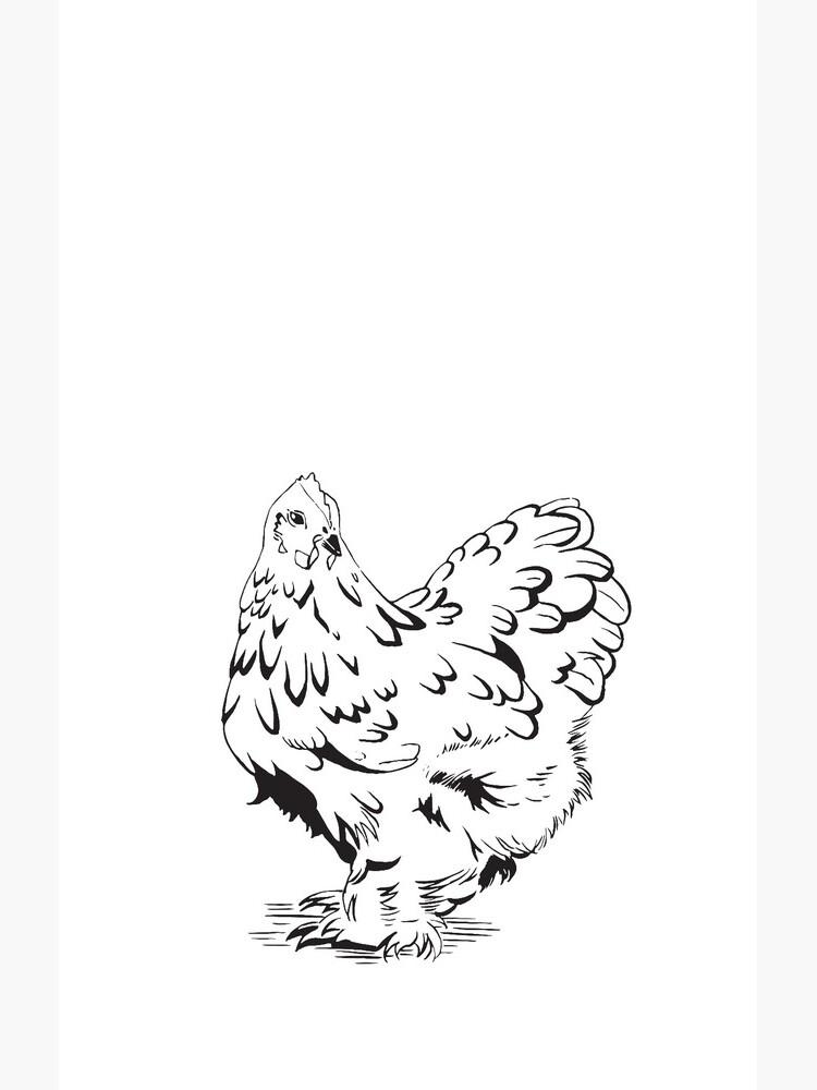 """Inktober - Day 5 - """"Chicken"""" by rotem"""